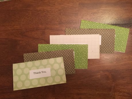 Thank You Cards (6pcs)