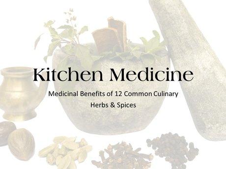 eCourse: Kitchen Medicinals
