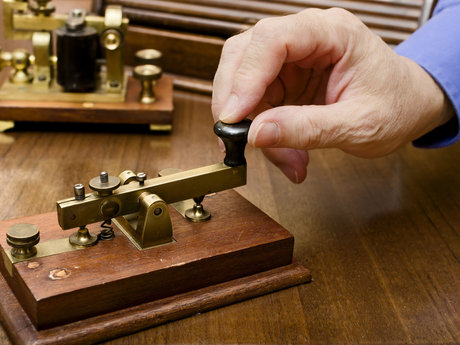 Learn and practice MORSE CODE