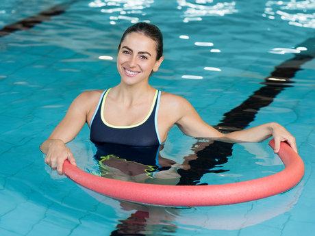 Aqua fitness routine