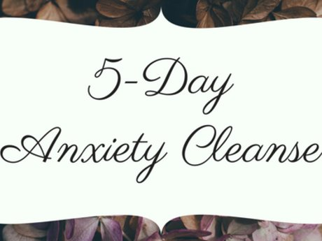 5-Day Anxiety Cleanse (eCourse)