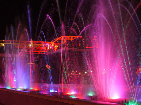 Dancing Fountain - Print Ready
