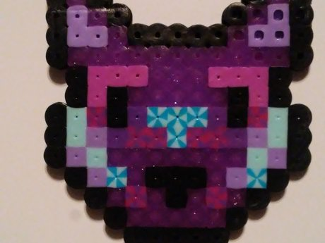 Hamabeads craft- Wolf
