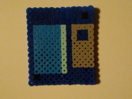Hamabeads craft-Floppy disk