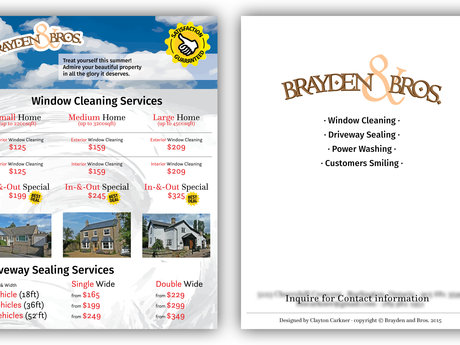 I design flyers for your business!