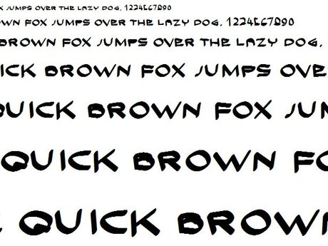 Customized and personal fonts