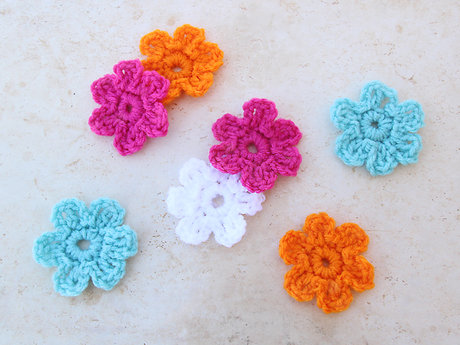 Crocheted Flower!