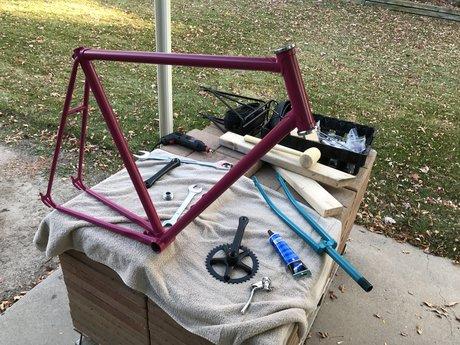 Online bike repair consultation