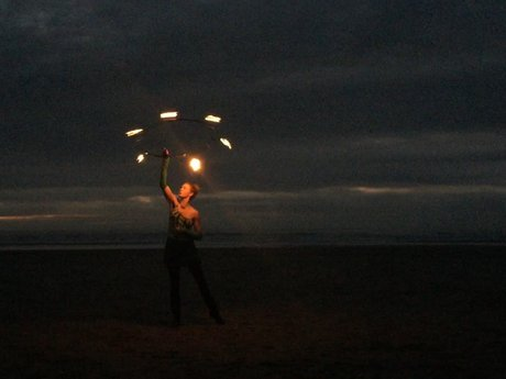 Hula/fire hooping lessons