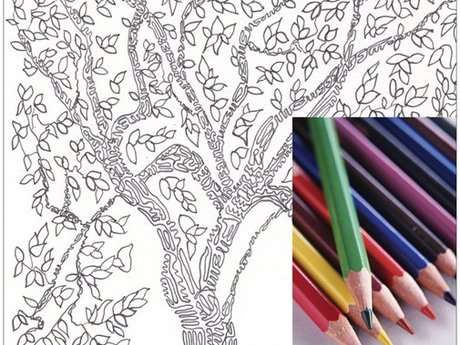 Tree Coloring Page Download