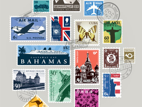STAMP COLLECTING!