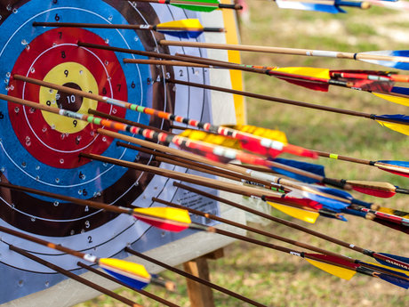 Archery coaching sessions