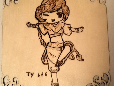 Small Ty-Lee Fan Art